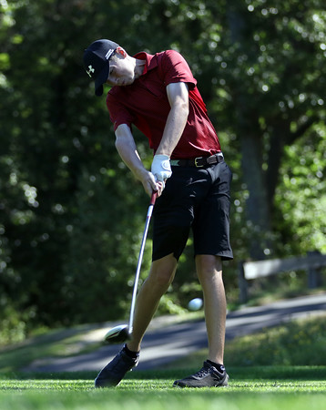 DAVID LE/Staff photo. St. John's Prep freshman golfer Matt Remley. 9/2/16.