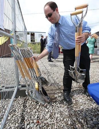 groundbreaking for the long awaited senior center