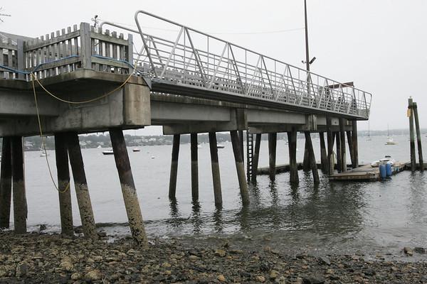 Gangway for Winter Island