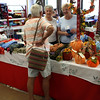 HADLEY GREEN/Staff photo<br /> Sisters Sandy MacKenzie and Josie Tremblay speak to a customer at a craft table in St. Anne's Church bazaar.09/23/17