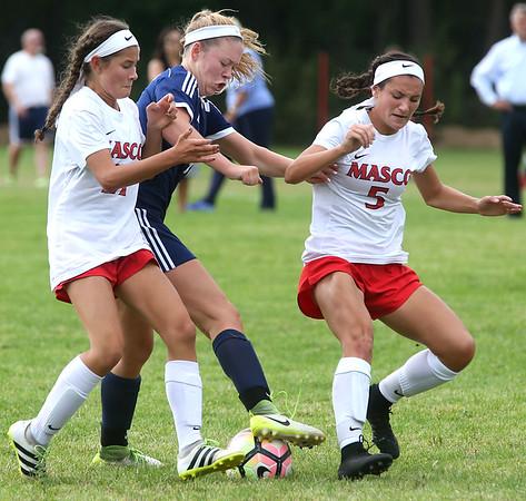 Hamilton-Wenham at Masconomet girls soccer game
