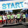 HADLEY GREEN/Staff photo<br /> Runners and walkers line up at the start line of the 16th annual International Race for Research to benefit the Progeria Research Foundation in downtown Peabody.<br /> 09/09/17