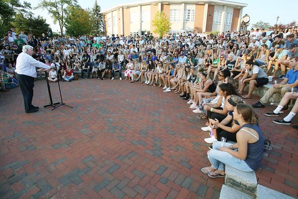 Vigil was held at Endicott College