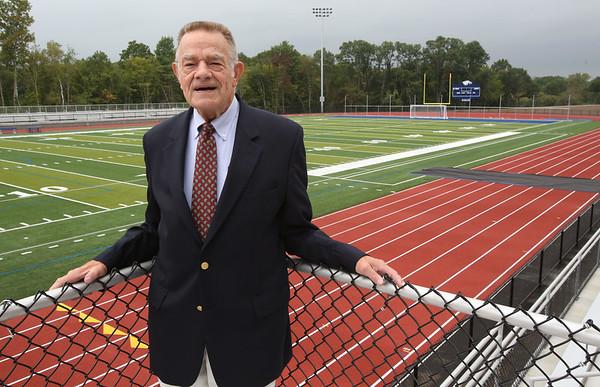 Former SJP football coach and AD Fred Glatz