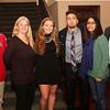 HADLEY GREEN/ Staff photo<br /> From left to right, Bobby Jellison, Bethann Jellison Jessica Jellison, Jackson Leete, Pamela Leete, and Eric Leete attend the Salem News Student Athlete Award dinner on Thursday, April 6th, 2017.
