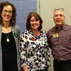 HADLEY GREEN/ Staff photo<br /> From left to right, Ellen Taintor and Sherry Leonard of the Betram House of Swampscott and George Barbuzzi of Lafayette Skilled Nursing attend the annual Marblehead Chamber Health and Wellness Fair at the Lynch Van Otterloo YMCA in Marblehead on Saturday, April 8th, 2017.