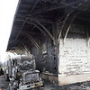 Train station caught fire when an oil truck went up in flames early Monday morning.
