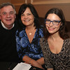 HADLEY GREEN/ Staff photo<br /> Michelle Connor, right, and her parents Ilona and Michael attend the Salem News Student Athlete Award dinner on Thursday, April 6th, 2017.