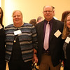 HADLEY GREEN/ Staff photo<br /> From left to right, Adrienne Viarengo of U.S. Senator Elizabeth Warren's office, Beth Debski of the Salem Partnership, Paul Debski, and Kate Machet of U.S. Senator Ed Markey's office attend the Essex National Heritage Area 20th anniversary gala held at the Peabody Essex Museum in Salem on Wednesday, April 5th, 2017.