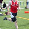 HADLEY GREEN/ Staff photo<br /> Salem's Shawn Small runs at the Salem v. Lynn track meet at Danvers High School on Tuesday, April 18th, 2017.