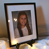 HADLEY GREEN/Staff photo<br /> A photo of Ella O'Donnell is placed on a table at a fundraiser for Ella's Army, a nonprofit created in Ella's memory. <br /> <br /> 04/26/18