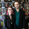 HADLEY GREEN/Staff photo<br /> Wyn and Kevin Grant are the co-owners of The Castle, a board game cafe on Rantoul Street Beverly. The duo is planning a new location at the North Shore Mall in Peabody. <br /> <br /> 04/09/18