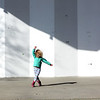 HADLEY GREEN/Staff photo<br /> Iggy Connolly, 4, of Salem, gives an impromptu dance performance on the outdoor stage of the Salem Willows.<br /> <br /> 04/07/18