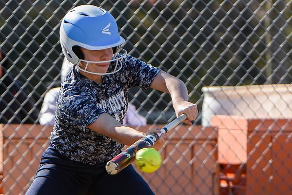 Beverly High girls softball game in game vs. Swampscott