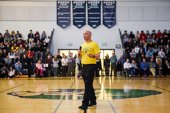 Essex Tech School Resource Officer recounts his experience as a bystander during the marathon bombing in 2013