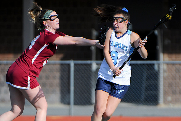 Gloucester at Peabody girls lacrosse game