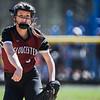 Gloucester at Peabody varsity softball game