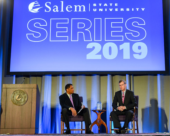 Red Sox President and CEO Sam Kennedy at Salem State