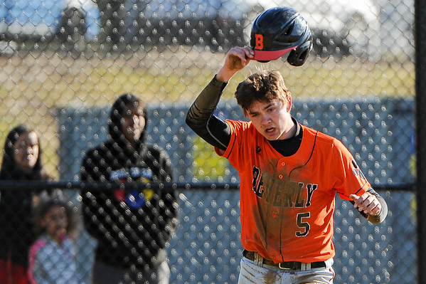 Salem at Beverly varsity baseball game