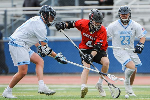 Marblehead at Peabody boys lacrosse game