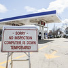 Vehicle inspection systems down statewide