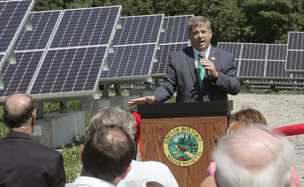 Boxford cuts the ribbon on a solar array