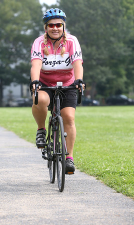 Paula Ricci is a first-time rider in the Pan-Mass. Challenge