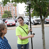 Testing methane levels near trees