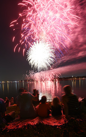 Beverly Homecoming Fireworks
