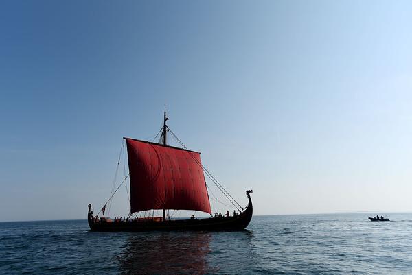 Draken comes into Salem Harbor