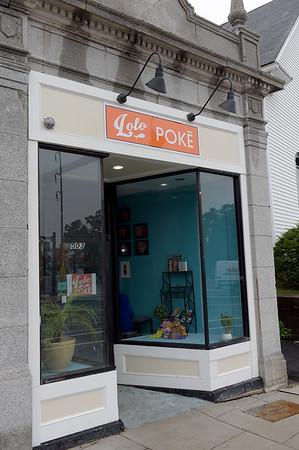 TIM JEAN/Staff photo<br /> <br /> Lolo Poke, a new restaurant on Rantoul Street in Beverly, offers Hawaiian cuisine.    8/22/18