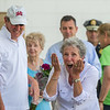AMANDA SABGA/Staff photo<br /> <br /> JoAnn Sampson reacts as she is awarded Senior of the Year at Senior Day in the park at Lynch Park as part of Beverly Homecoming.<br /> <br /> 8/2/18