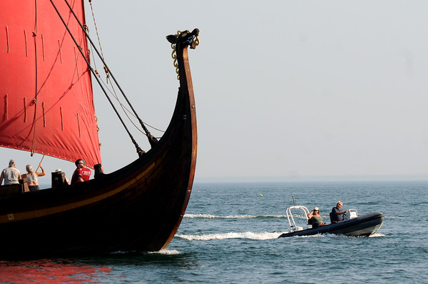 Draken comes into Salem Harbor