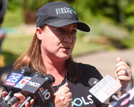 Parkland victim's mother Lori Alhadeff speaks on mass shootings in Texas and Ohio
