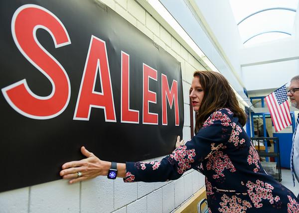 Salem High School Interim Principal Samantha Meier