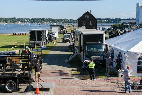 Adam Sandler possibly filming on Derby Wharf