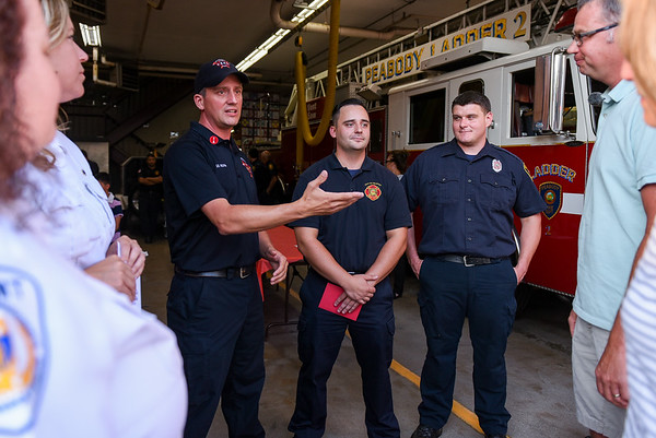 Three Peabody firefighters to be honored for saving a young man by performing CPR on him