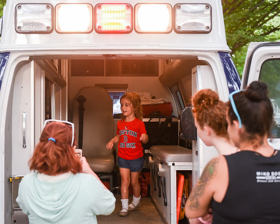 """National Night Out event; """"America's Night Out Against Crime"""""""