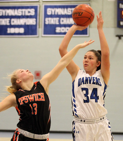 Danvers vs Ipswich Girls Basketball