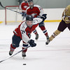 St. John's Prep vs BC High in the Frates Tournament first round hockey game.
