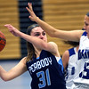 Peabody at Danvers girls basketball game