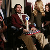 Pete Frates receiving NCAA Inspiration Award