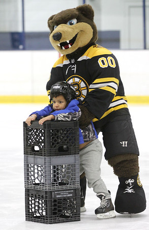 Charity event with the Boston Bruins