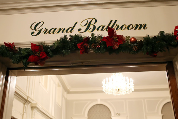 HADLEY GREEN/Staff photo<br /> The 24th annual holiday party for Salem Children's Charity was held in the grand ballroom at the Hawthorne Hotel.