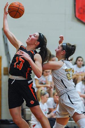 Beverly vs. Bishop Fenwick girls basketball at Masconomet tournament