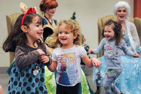 The Snow Sisters at the Ipswich Public Library