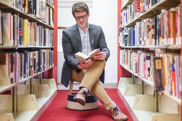 Alex Lent - library director of the Peabody Institute of Library