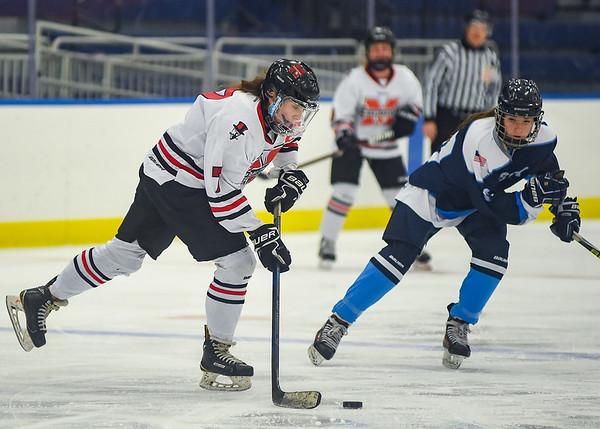 Marblehead vs Peabody - girls hockey