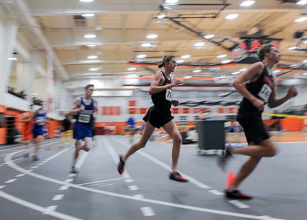 Danvers at Beverly boys/girls indoor track meet