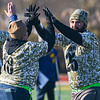 Gloucester Army vs. Navy vets compete in flag football game